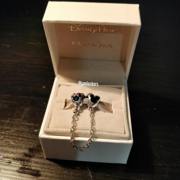 f85c8d671 Mickey & Minnie safety chain, Disney Parks Pandora.  M_5ab5b68d72ea886d9274f1ca